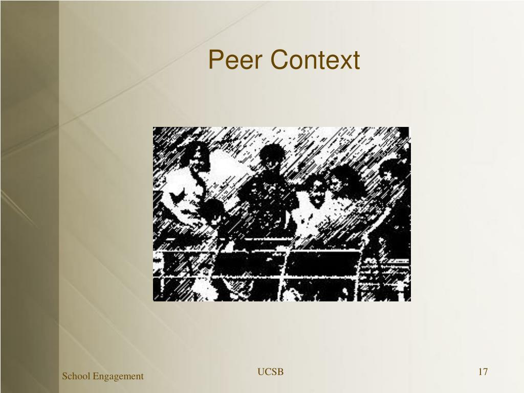 Peer Context