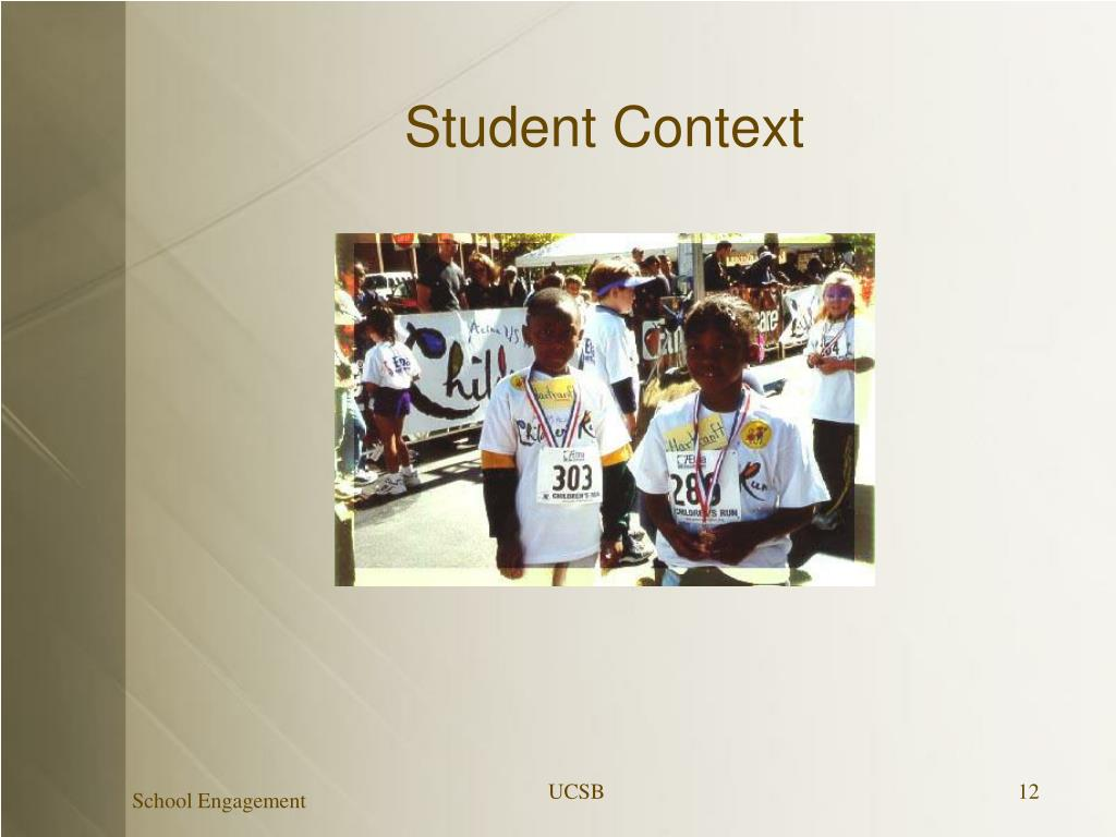 Student Context