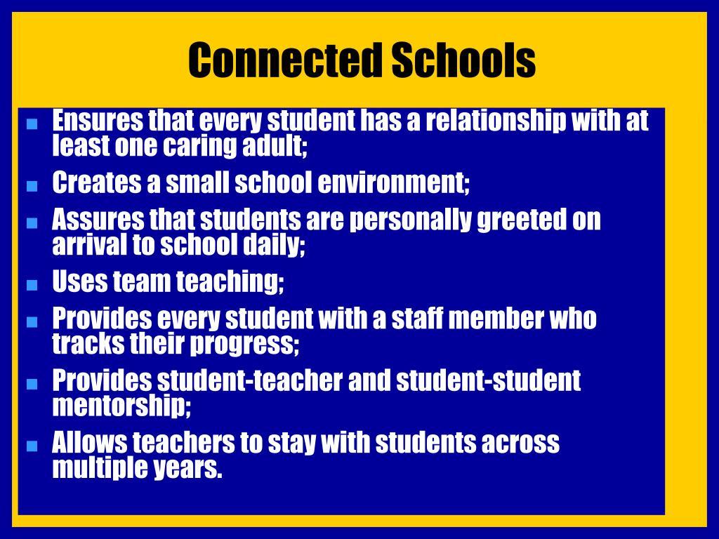 Connected Schools