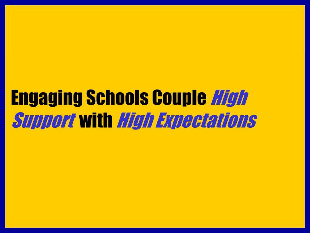 Engaging Schools Couple