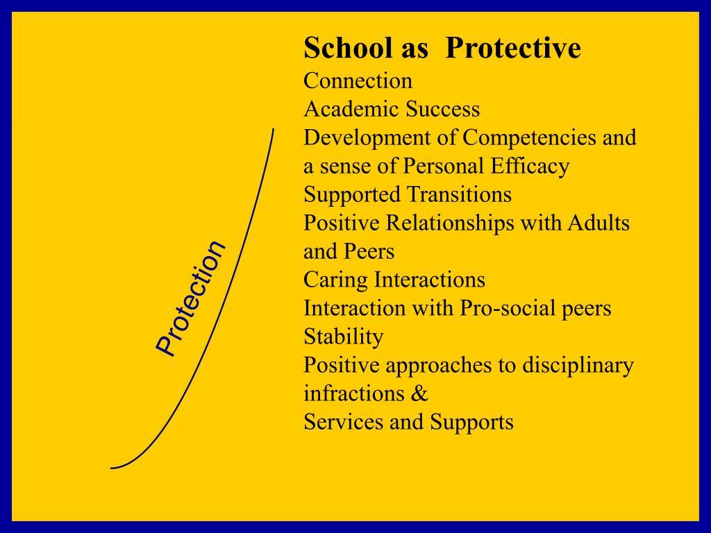 School as  Protective