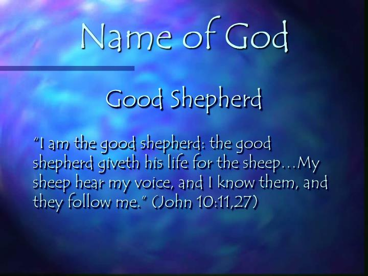 Name of God