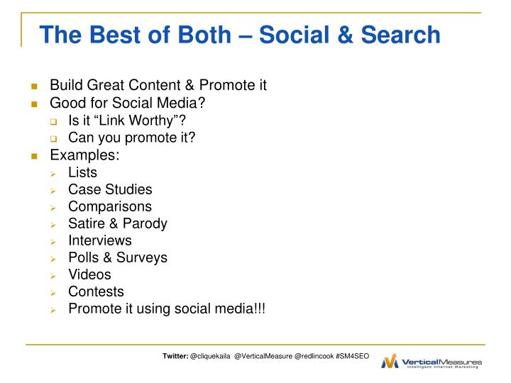 The Best of Both – Social & Search