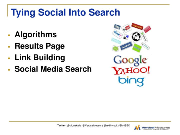 Tying Social Into Search