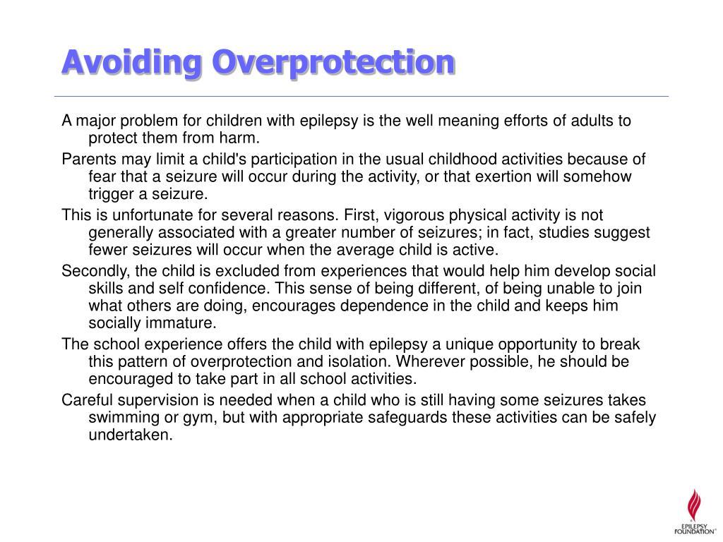 Avoiding Overprotection