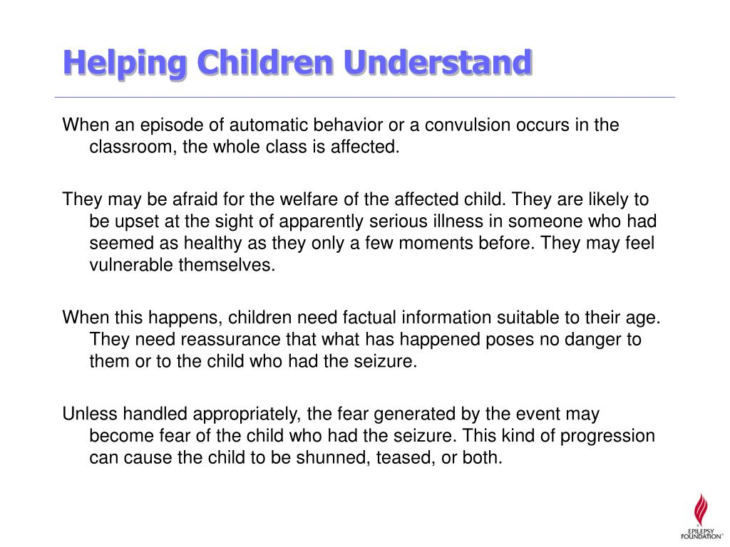 Helping Children Understand