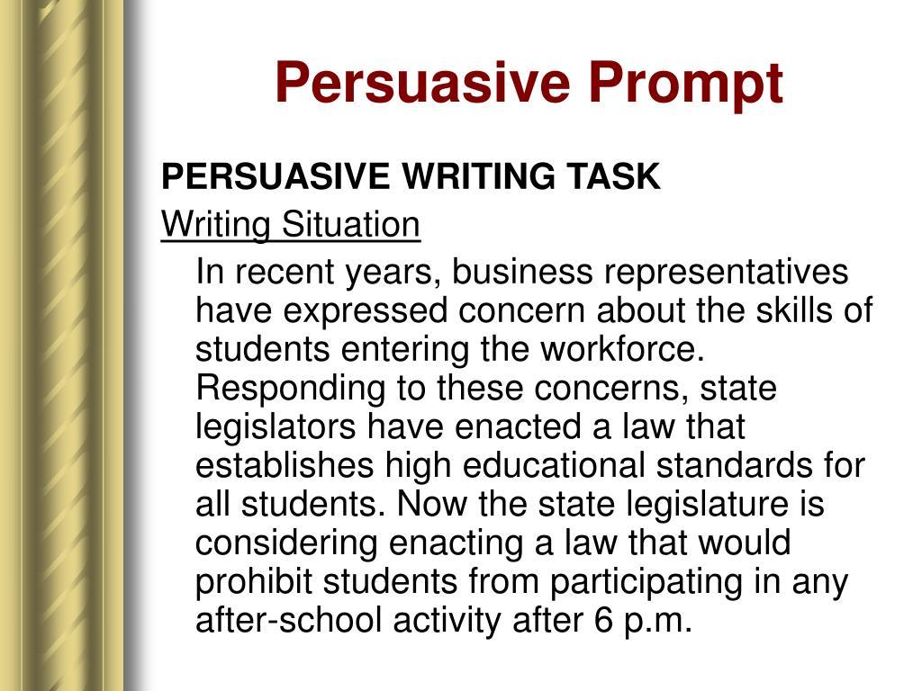 Persuasive Prompt