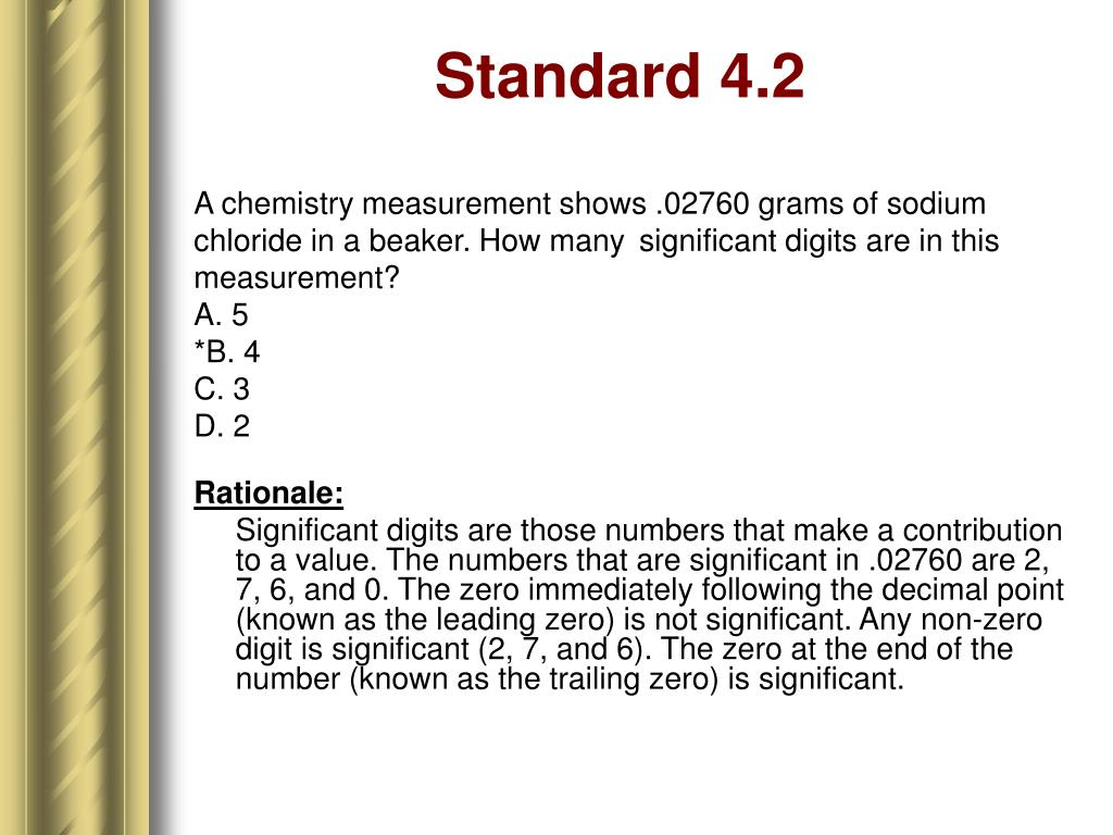 Standard 4.2