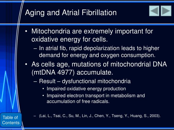 Aging and Atrial Fibrillation