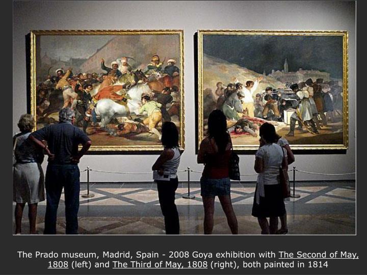 The Prado museum, Madrid, Spain - 2008 Goya exhibition with