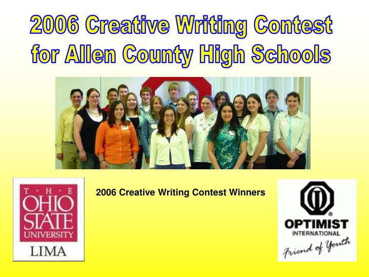 High School Creative Writing Contests