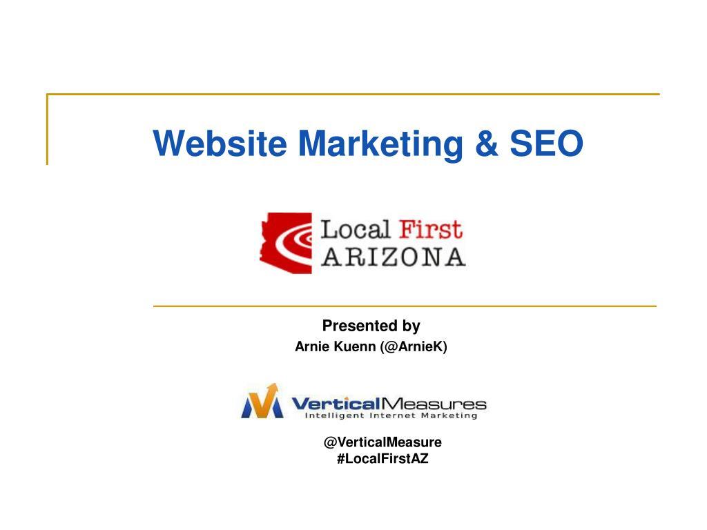 Website Marketing & SEO