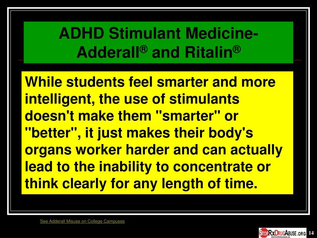 ADHD Stimulant Medicine- Adderall