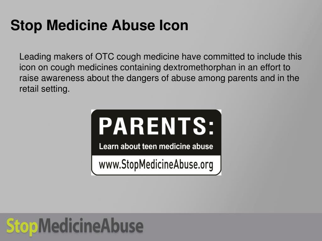 Stop Medicine Abuse Icon