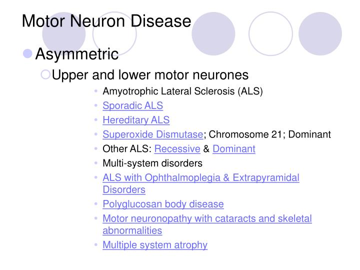 Ppt approach to a child with weakness powerpoint What is lower motor neuron disease