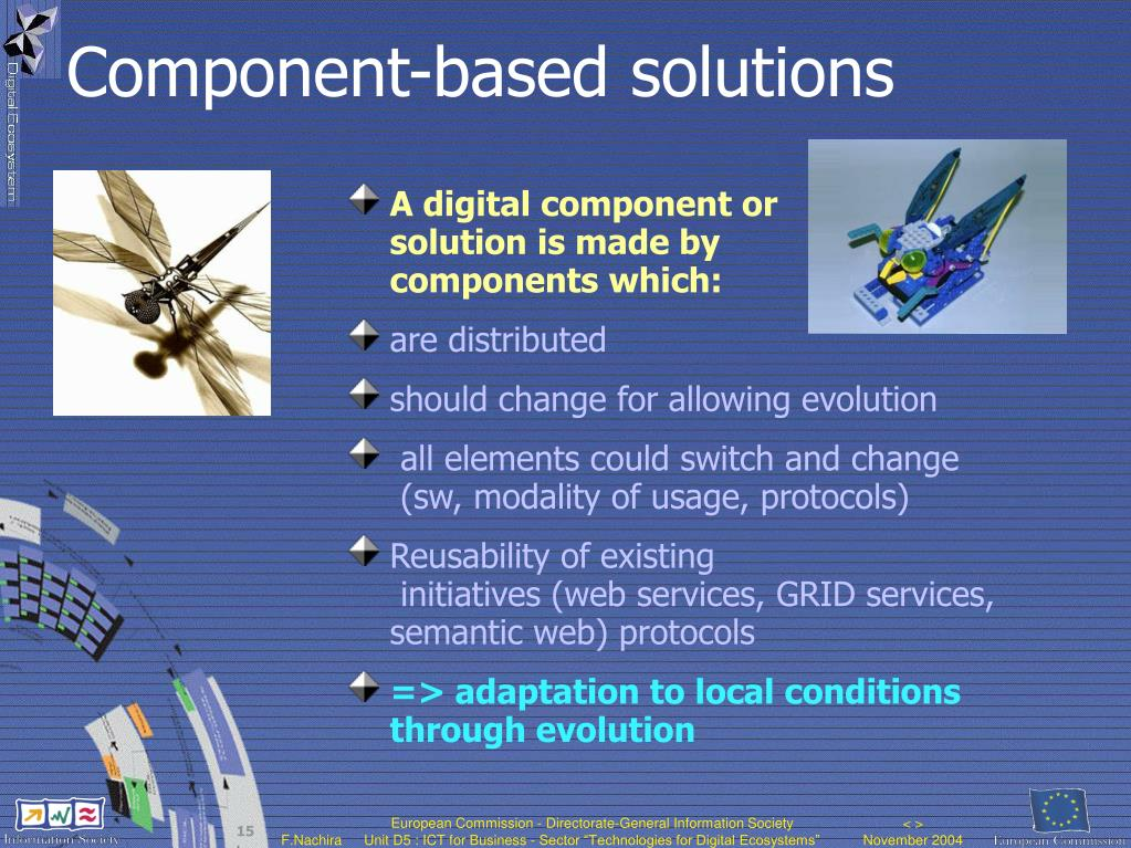 Component-based solutions