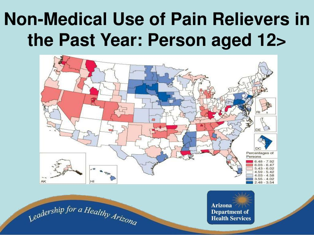 Non-Medical Use of Pain Relievers in the Past Year: Person aged 12>