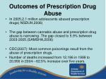 outcomes of prescription drug abuse19