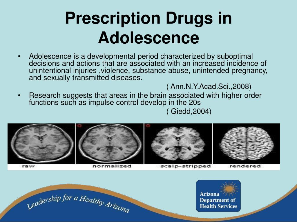 Prescription Drugs in Adolescence