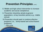 prevention principles cont30