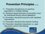 prevention principles cont31