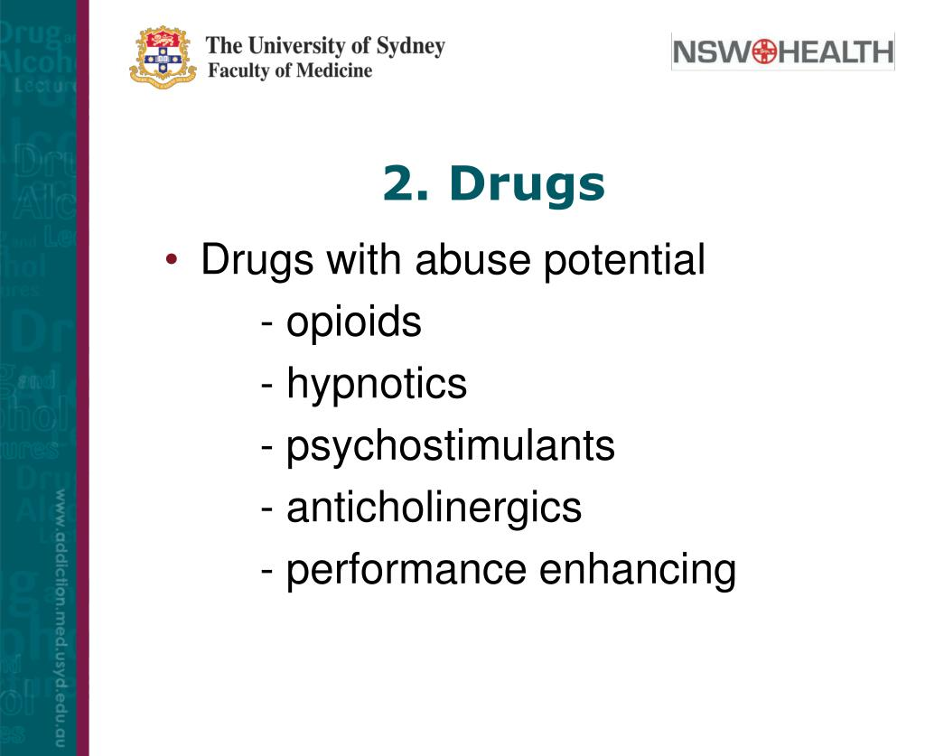 2. Drugs