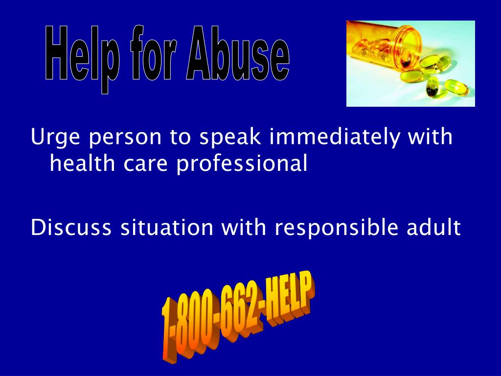 Help for Abuse