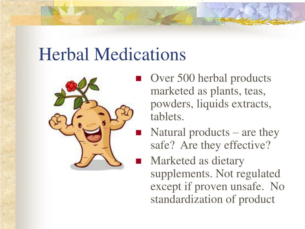 Herbal Medications