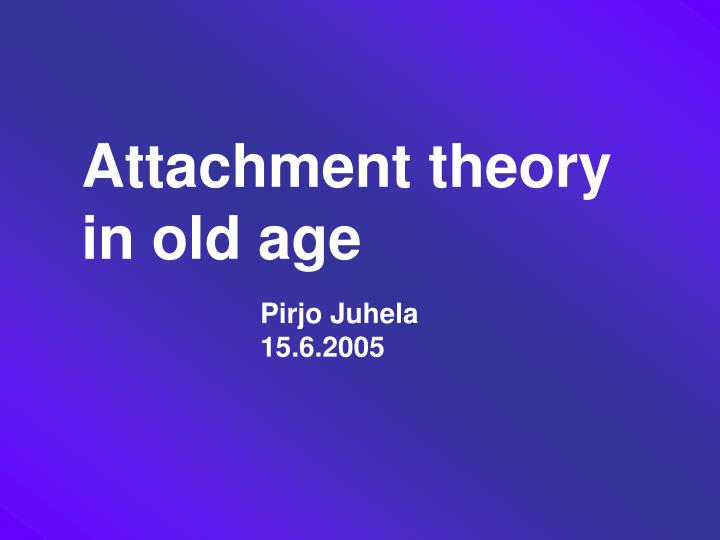 a description of attachment theory Where did attachment theory come from  a number of points may be made about this description of the theory first, the theory, which i suppose is an aspect of.