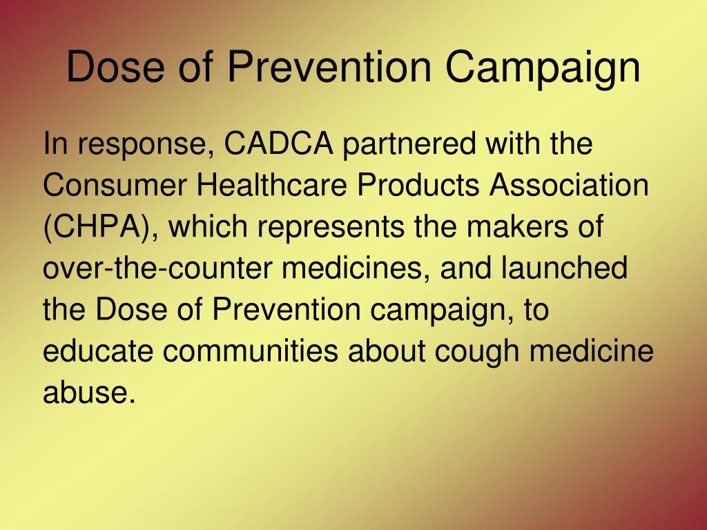 Dose of Prevention Campaign