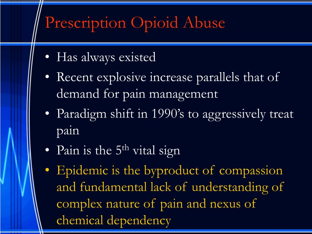 Prescription Opioid Abuse