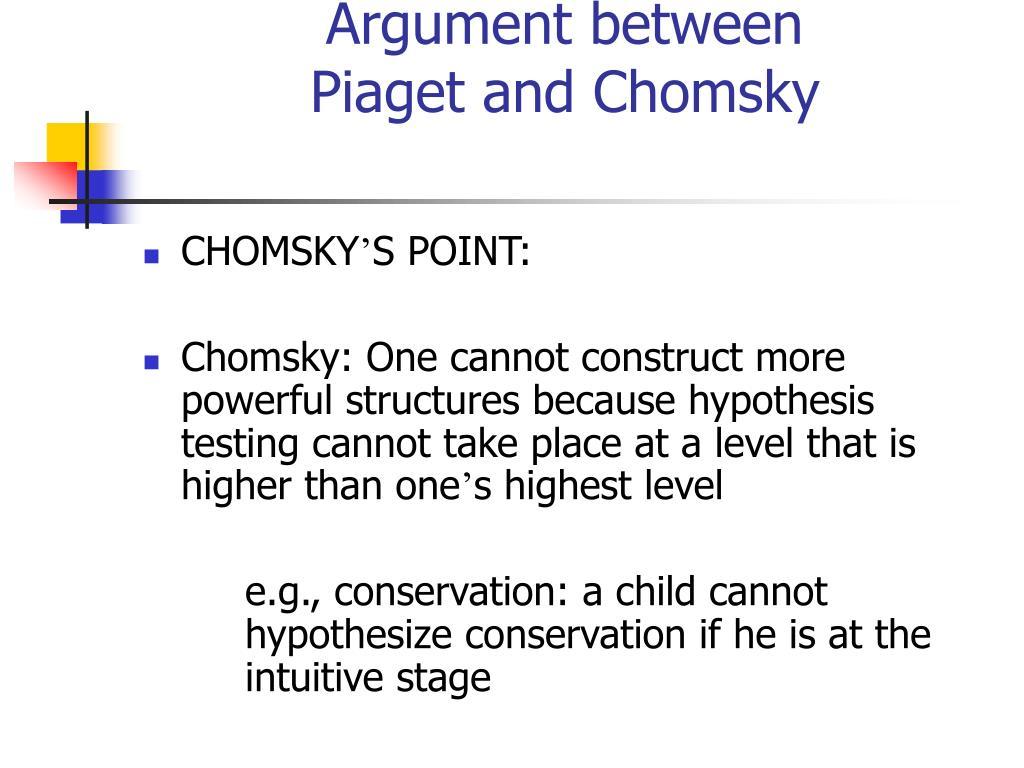 Argument between