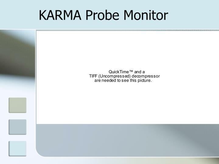 KARMA Probe Monitor
