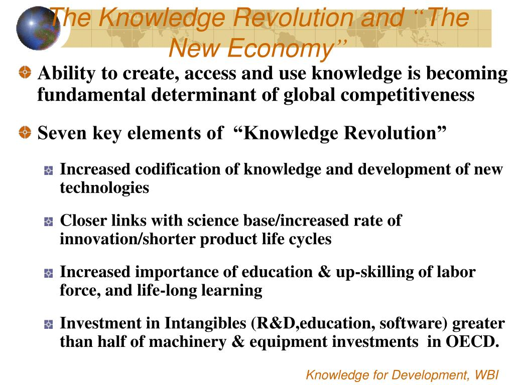The Knowledge Revolution and