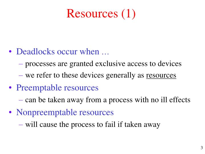 Resources 1