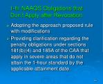 1 hr naaqs obligations that don t apply after revocation