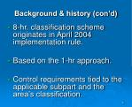 background history con d