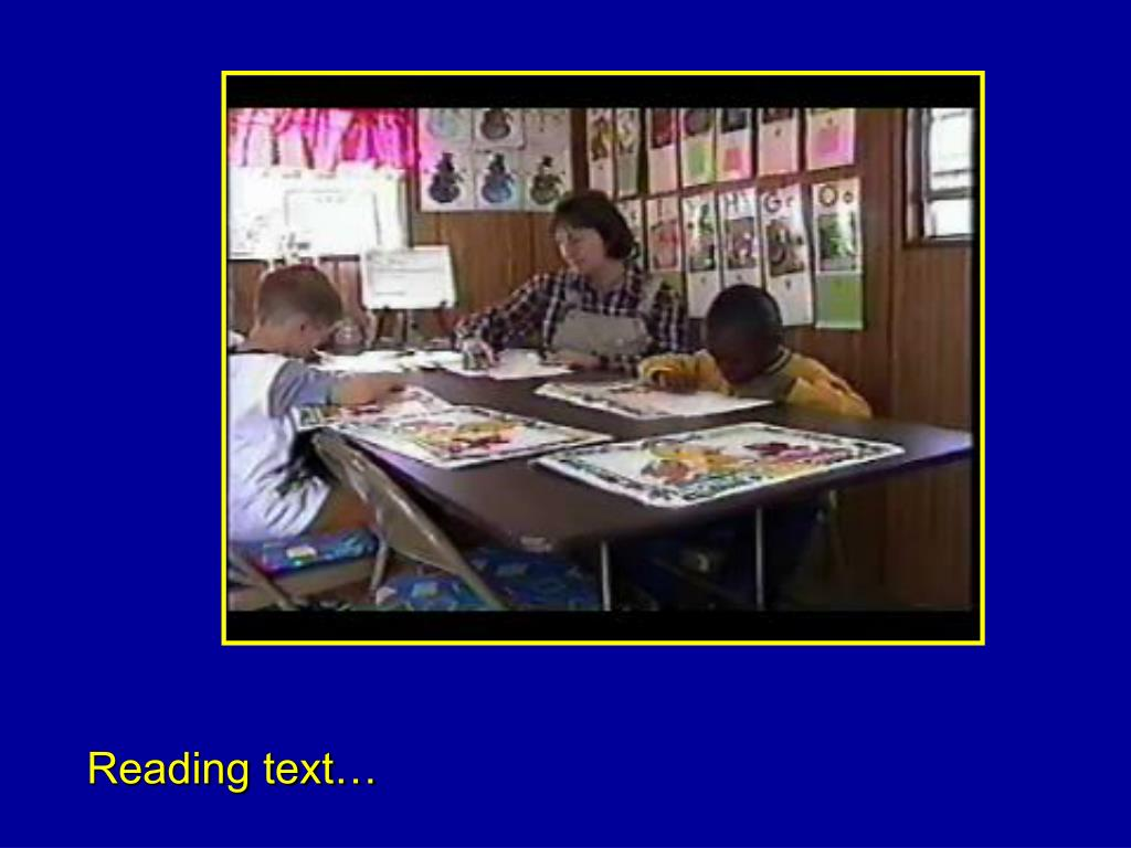 Reading text…