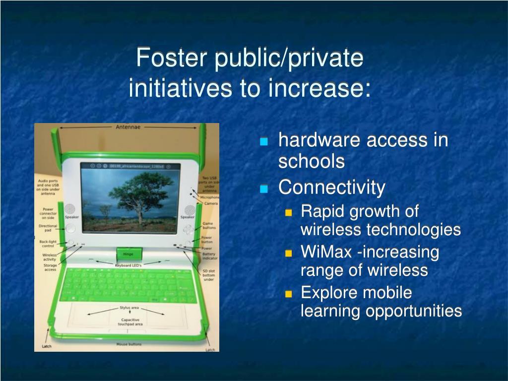 hardware access in schools