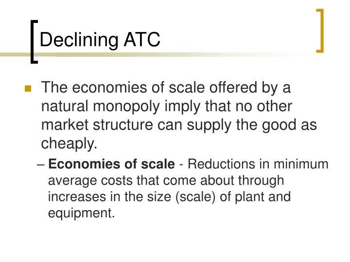 Declining ATC