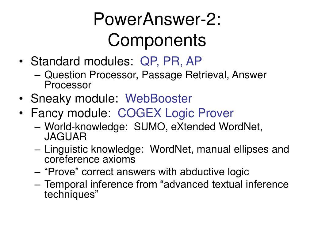 PowerAnswer-2: