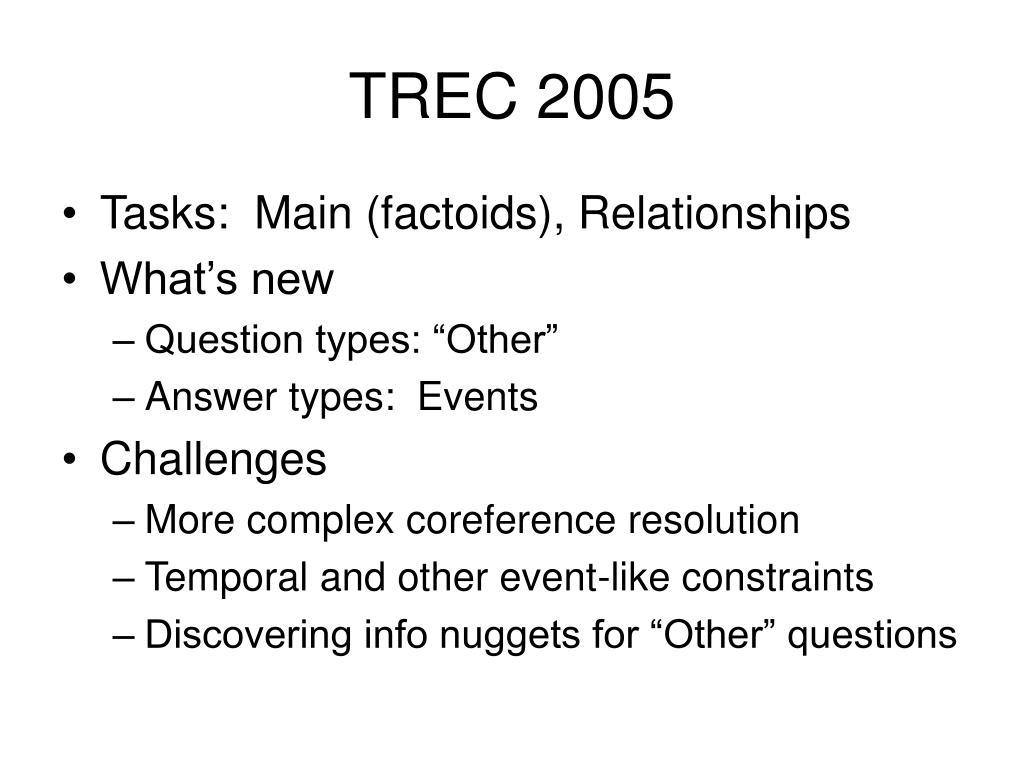 TREC 2005