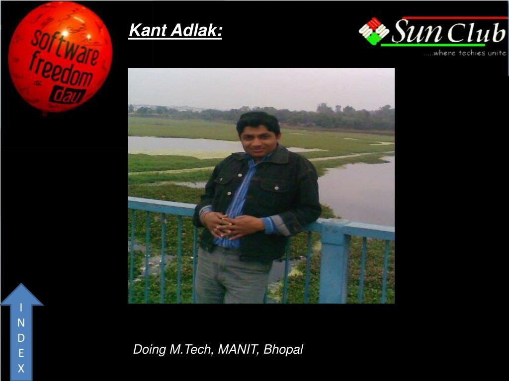 Kant Adlak: