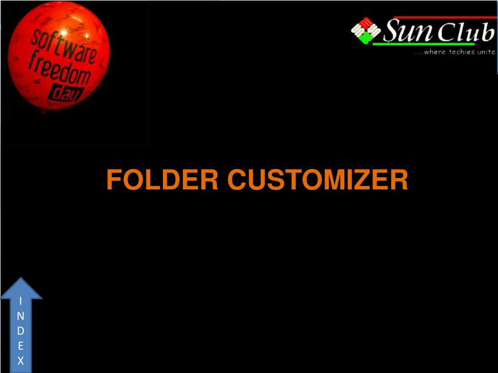 FOLDER CUSTOMIZER