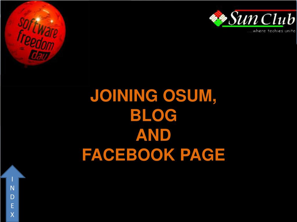JOINING OSUM,