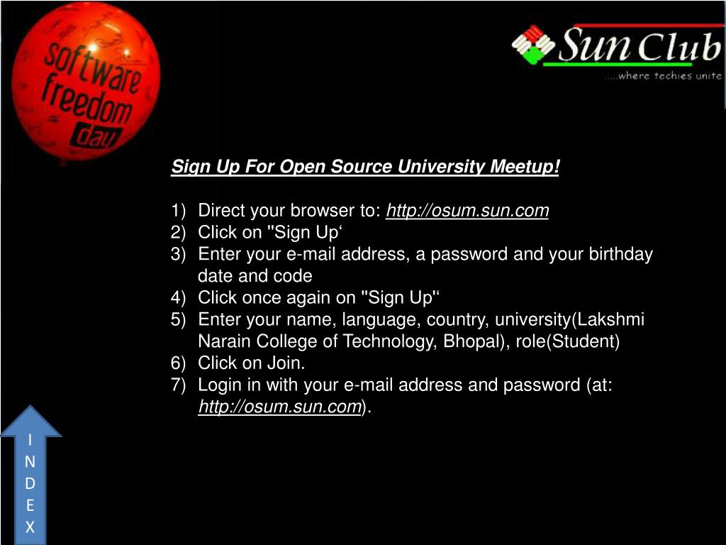 Sign Up For Open Source University