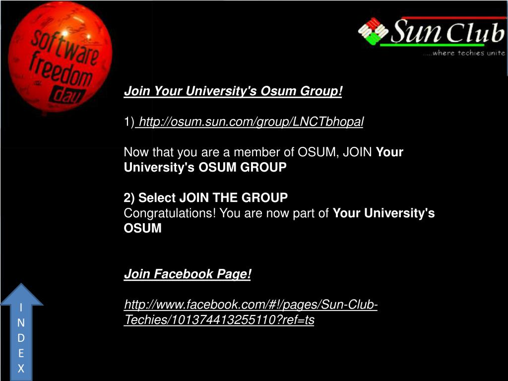 Join Your University's Osum Group!