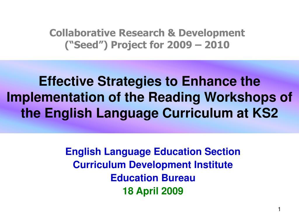 Collaborative Research & Development