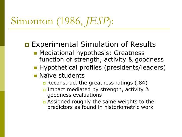 Simonton (1986,