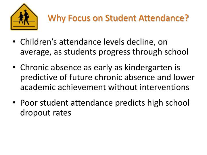 Why Focus on Student Attendance?